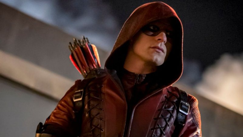 Arsenal no último episódio de Arrow