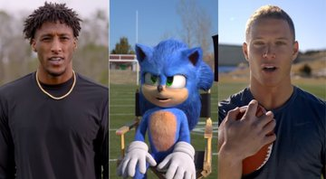 Sonic em atletas no comercial do Super Bowl 2020 de Sonic: O Filme - YouTube