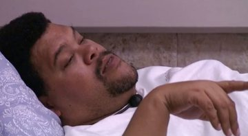 Babu Santana na casa do BBB20 - Globoplay