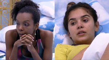 Thelma e Gizelly na casa do BBB20 - Globoplay
