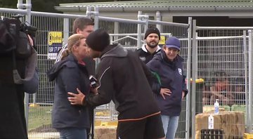 Benji Marshall e a repórter Michelle Bishop - YouTube