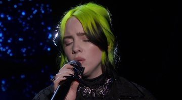 Billie Eilish em performance no Oscar 2020 - Youtube