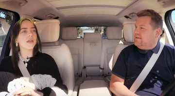 Billie Eilish participou do Carpool Karaoke, quadro do The Late Late Show com James Corden - YouTube