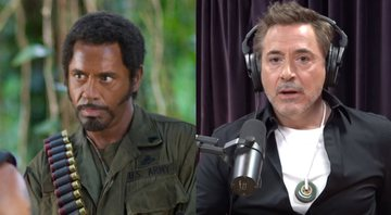 Robert Downey Jr. fez blackface em Trovão Tropical - YouTube/DreamWorks