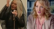 "Christina Aguilera zomba de J. K. Rowling, autora de ""Harry Potter"", em especial do Amazon Prime Video, ""Yearly Departed"" - Reprodução/YouTube"