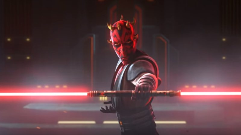 Darth Maul é destaque da última temporada The Clone Wars