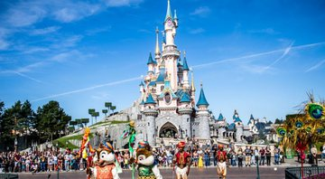 Imagem oficial da Disney de Paris - Getty Images
