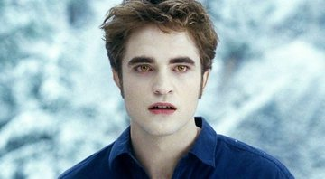 Robert Pattinson em cena da saga de Crepúsculo - Paris Films