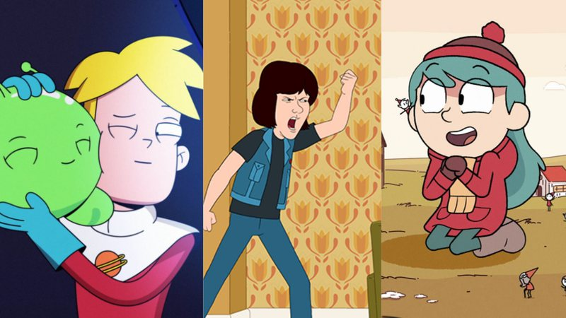 Personagens de Final Space, F is for Family e Hilda
