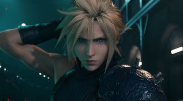Cloud na abertura cinemática de Final Fantasy VII Remake - YouTube