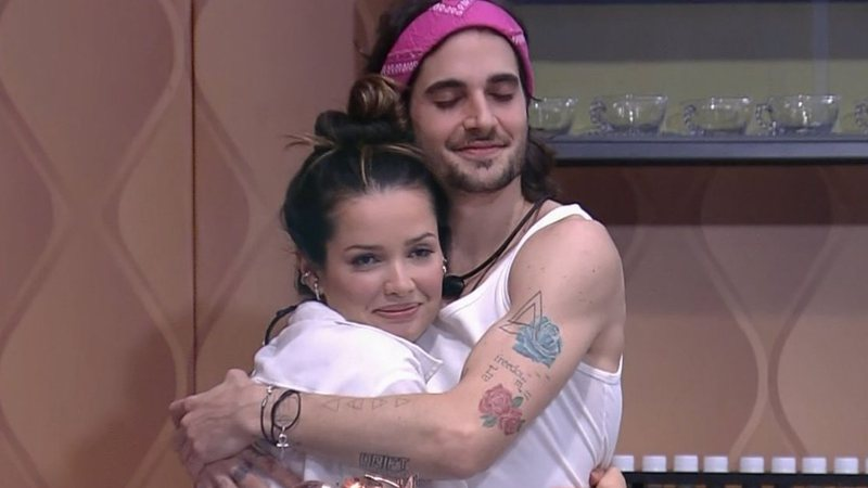 Fiuk e Juliette no BBB21