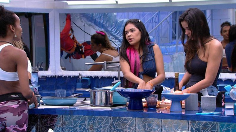 Flayslane, Thelma e Ivy no Big Brother Brasil 20