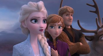 Cena do trailer de Frozen 2 - Disney