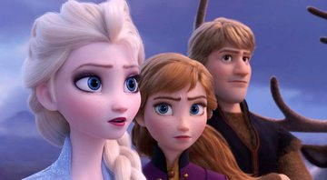 Cena do trailer de Frozen 2 - Disney/YouTube