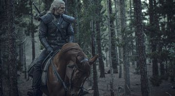 Geralt e Roach na primeira temporada de The Witcher - Netflix