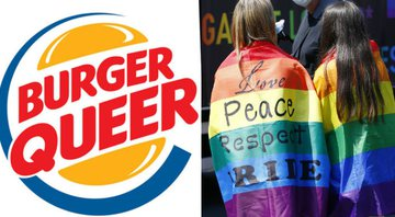 """Burger Queer"" - Instagram/Getty Images"