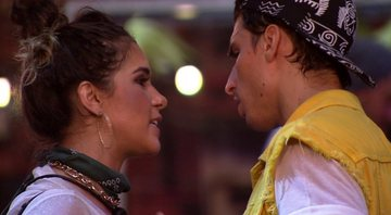 Gizelly e Felipe Prior no Big Brother Brasil 20 - Gshow