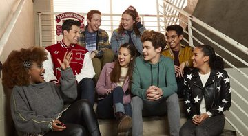 Elenco de High School Musical: The Musical: The Series - Divulgação: Disney+