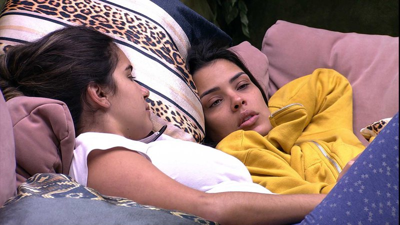 Ivy e Gizelly no Big Brother Brasil 20