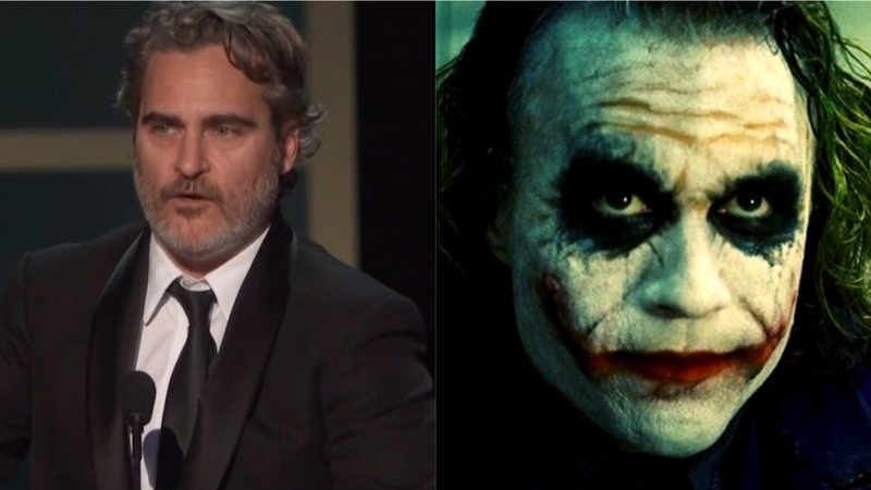 Joaquin Phoenix agradeceu Heath Ledger em discurso no SAG Awards 2020
