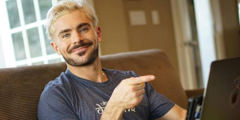 Zac Efron anuncia seu canal no Youtube