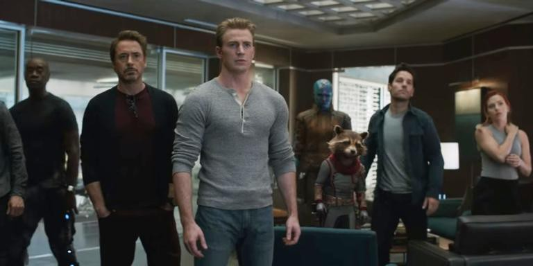Cena do novo filme da Marvel, 'Vingadores: Ultimato'