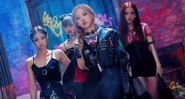 Cena do clipe 'Kill This Love', do grupo de K-Pop BLACKPINK - Reprodução/YouTube