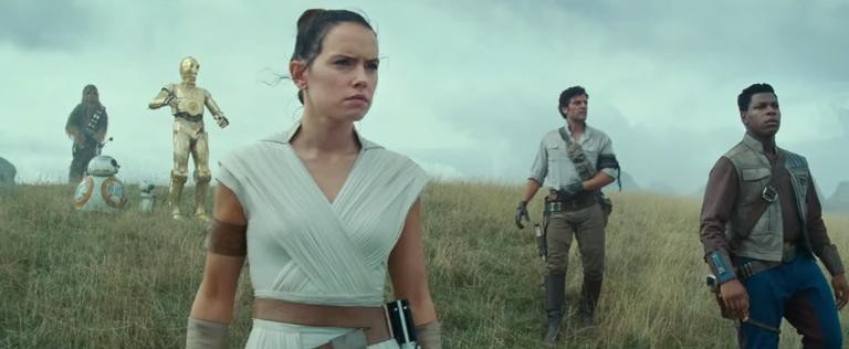Imagem do primeiro teaser de 'Star Wars: The Rise of Skywalker'