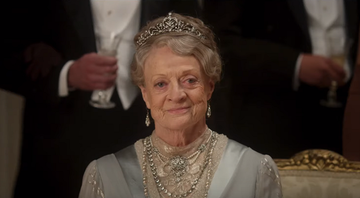 Maggie Smith no trailer de 'Downton Abbey'. - Reprodução/Focus Features