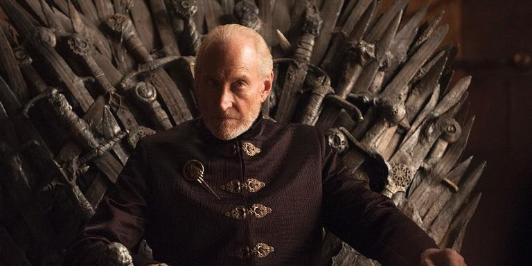 Charles Dance como Tywin Lannister em 'Game of Thrones.
