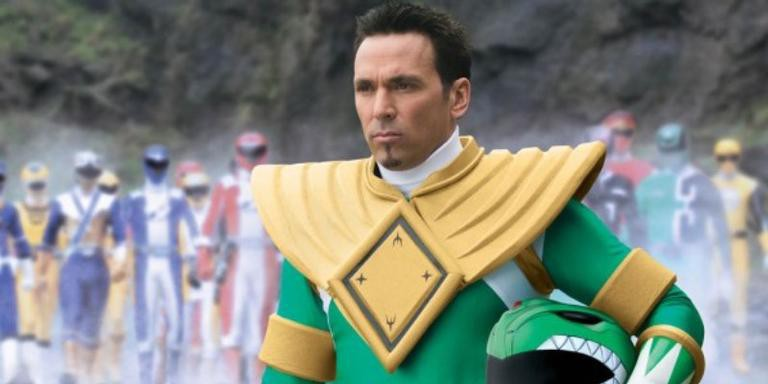 Jason David Frank como Tommy Oliver, o Power Ranger verde