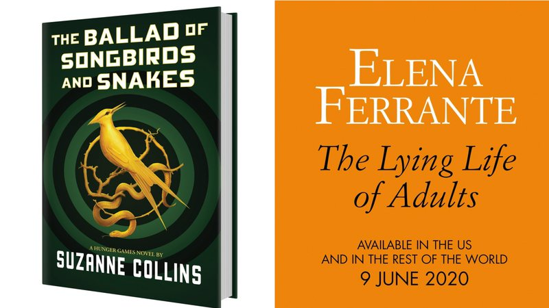 Capa de The Ballad of Songbirds and Snakes e The Lying Life of Adults