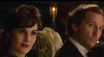 Michelle Dockery no trailer Magnatas do Crime - Reprodução/Youtube
