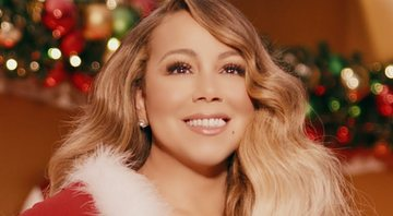 Mariah Carey no clipe de All I Want For Christmas Is You - YouTube