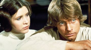 Carrie Fisher e Mark Hamill na saga Star Wars - Divulgação/20th Century Fox