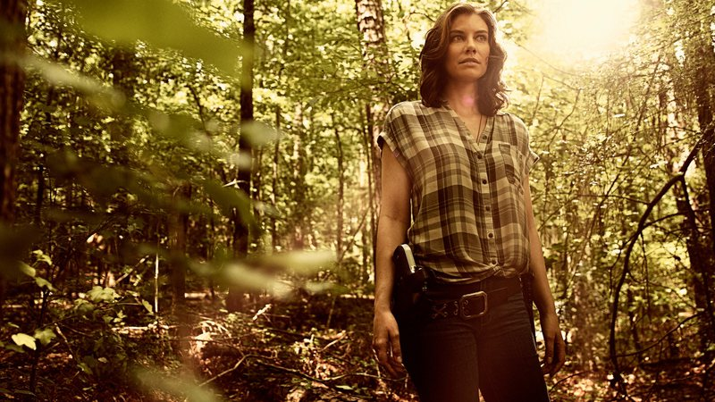 Lauren Cohan como Maggie em The Walking Dead