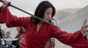 Cena do featurette de Mulan - Youtube
