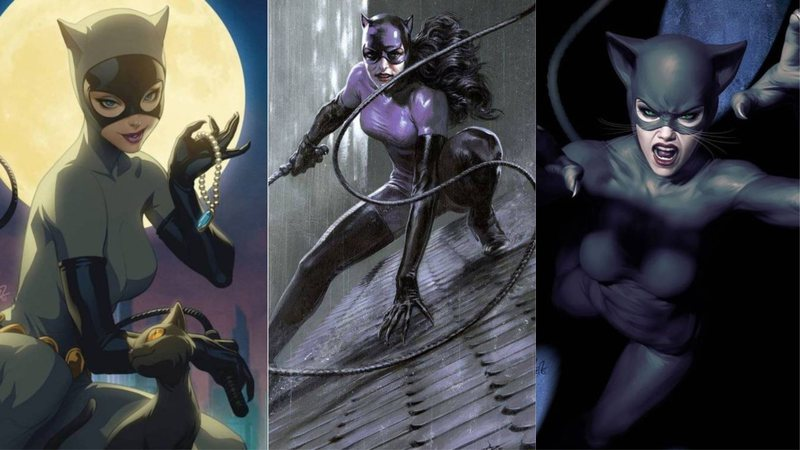 Capas variantes de Catwoman 80th Anniversary 100-Page Super Spectacular #1