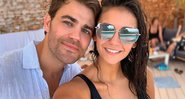 Paul Wesley e Nina Dobrev, estrela de The Vampire Diaries - Instagram