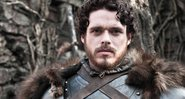 Richard Madden como Robb Stark em GoT - HBO