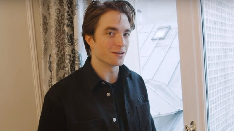 Robert Pattinson em entrevista à Vogue