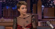 Ruby Rose no The Tonight Show - Reprodução/YouTube