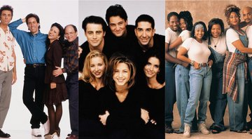 Sienfeld, Friends e Living Single - Divulgação/NBC/Fox