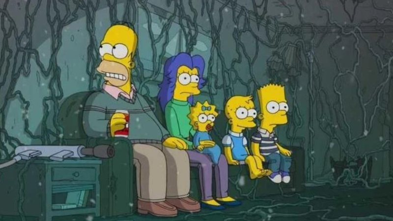 Cena do episódio 666 de Simpsons