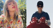 "Taylor Swift elogiou o novo clipe de Katy Perry, ""Not the End of the World"" - Reprodução/Instagram/YouTube"