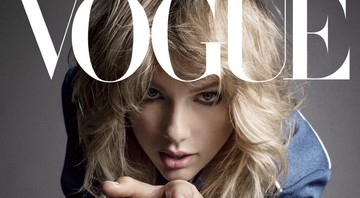 Taylor Swift na a capa da Vogue September Issue. Divulgação/Vogue