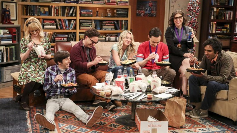 Cena de The Big Bang Theory