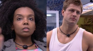 Thelma e Lucas dentro do BBB20 - Globoplay