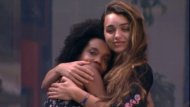 Thelma e Rafa Kalimann no Big Brother Brasil 20