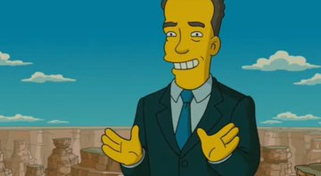 Tom Hanks em Os Simpsons - Fox